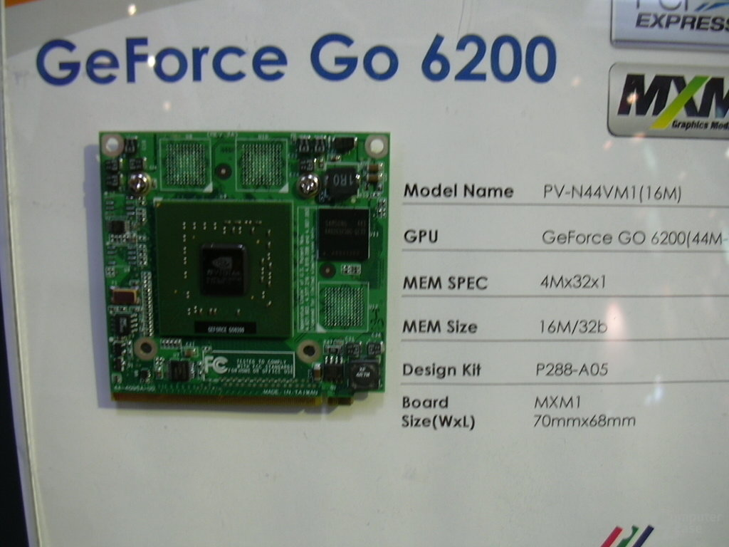 GeForce Go 6200
