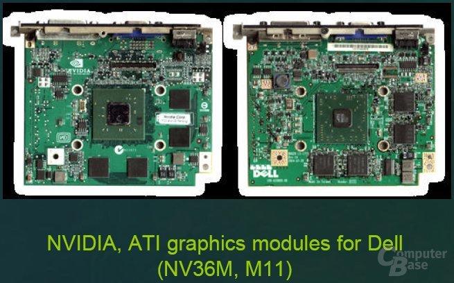 MXM-Module auch mit ATI-GPU