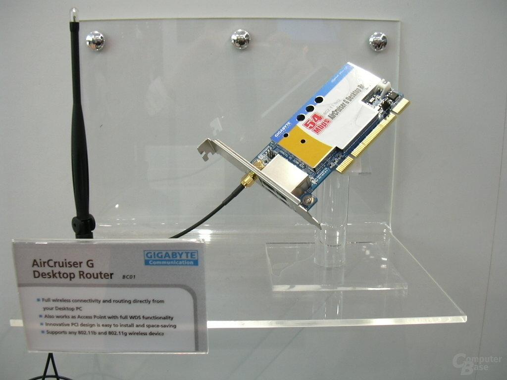 AirCruiser G Desktop Router