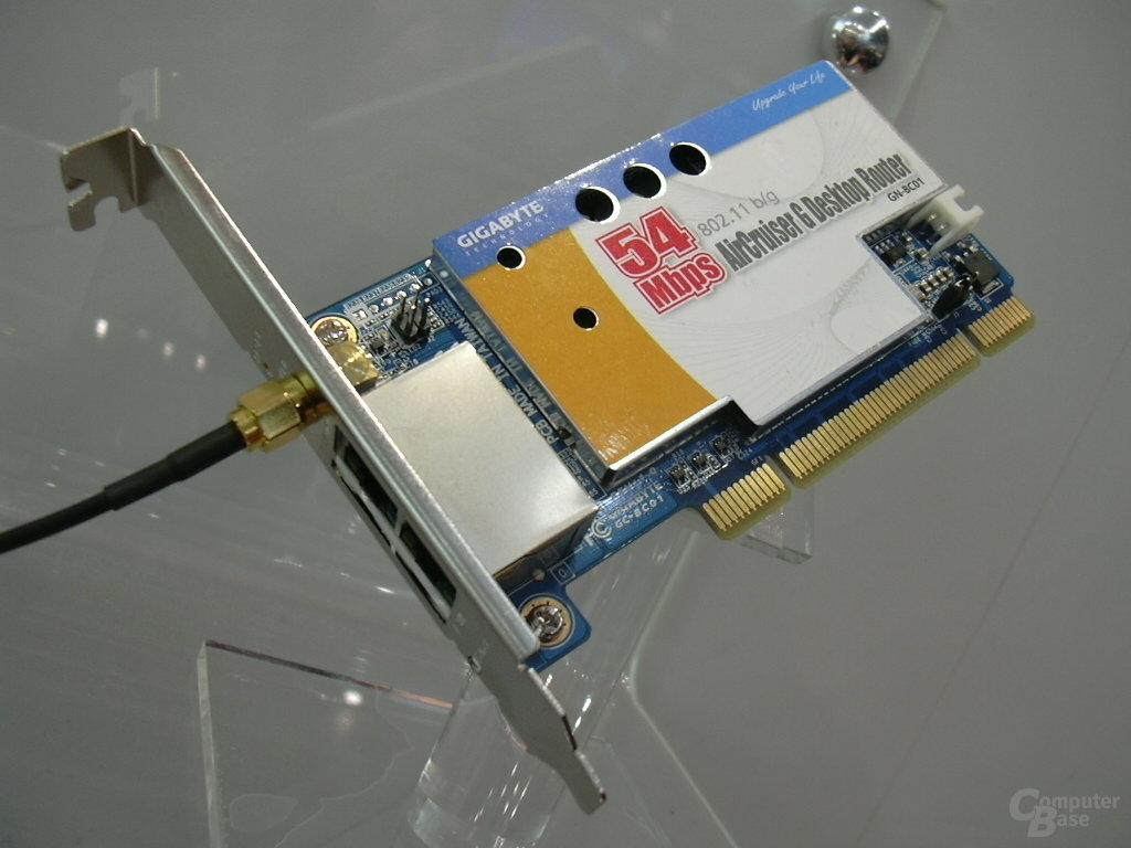 AirCruiser G Desktop Router - closeup
