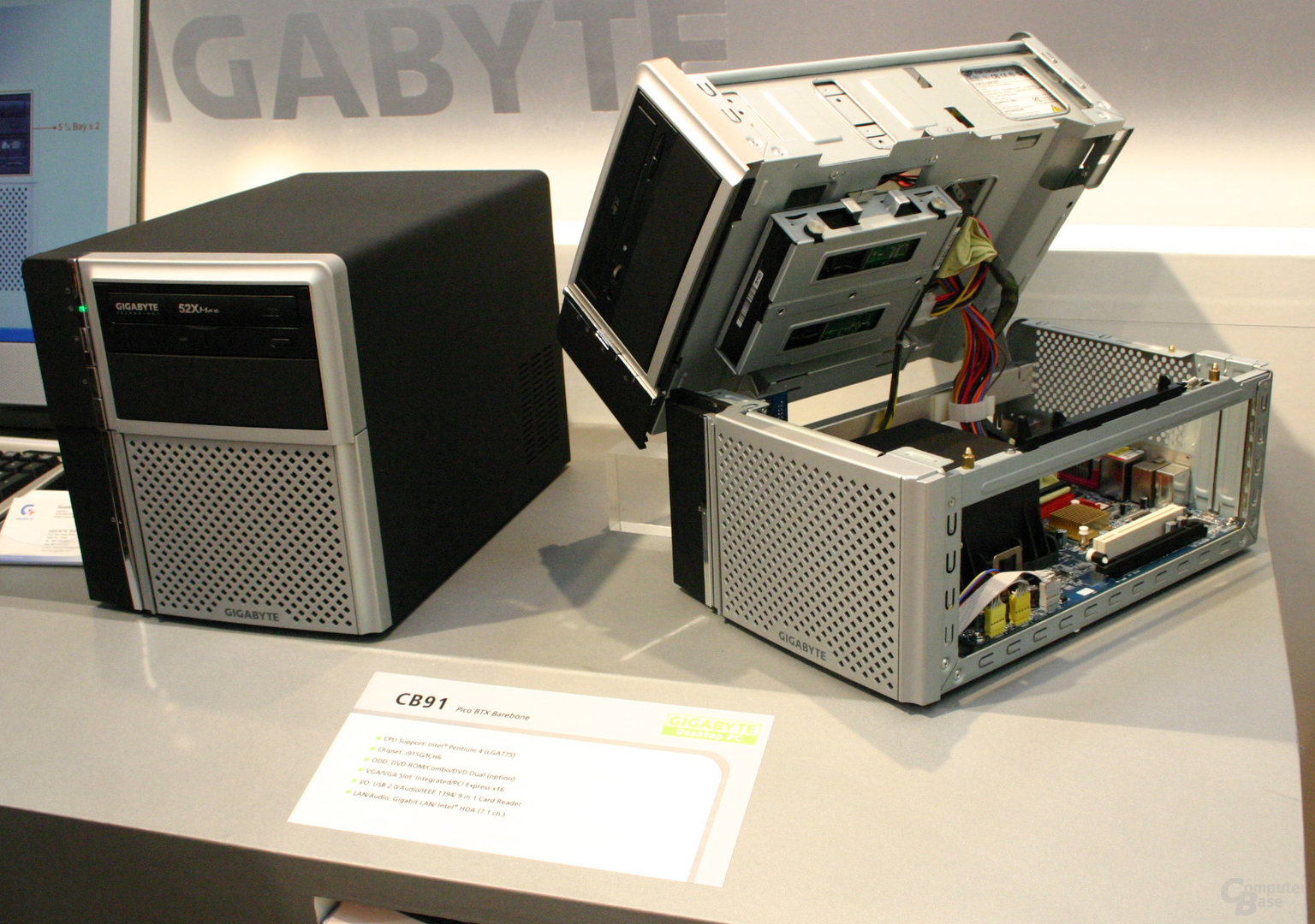 Gigabytes BTX-Barebone CB91