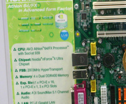 MSI K8NM8 im Micro-BTX-Formfaktor