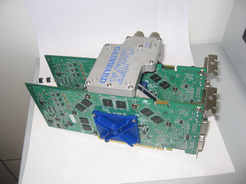 Gainward SLI-Bundle mit 2 x 512 MB