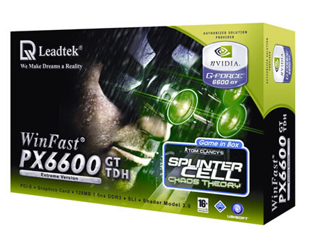 Leadtek WinFast PX6600 GT TDH Extreme Limited Edition
