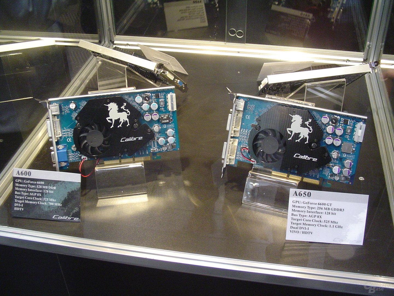 Sparkle Calibre A600 und A650