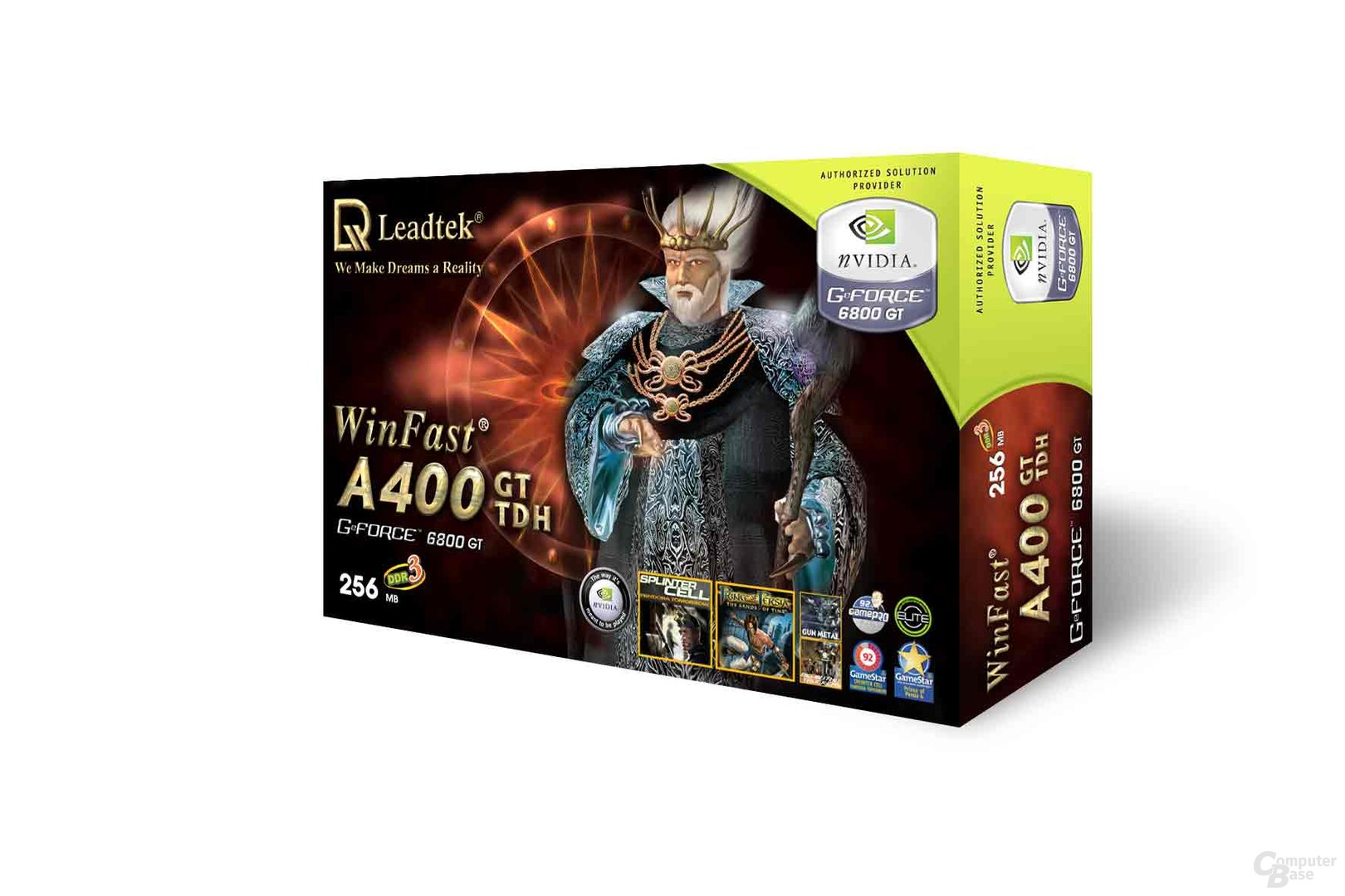 Leadtek WinFast A400GT TDH 256MB