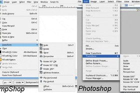 Vergleich Gimpshop - Photoshop