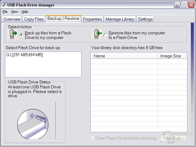 Microsoft USB Flash Drive Manager