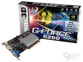 Inno3D GeForce 6200A für AGP