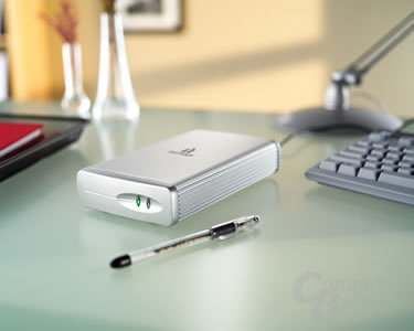 External Hard Drive Silver Series