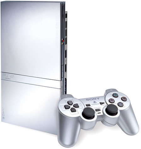 PlaySation 2 Satinsilver Edition
