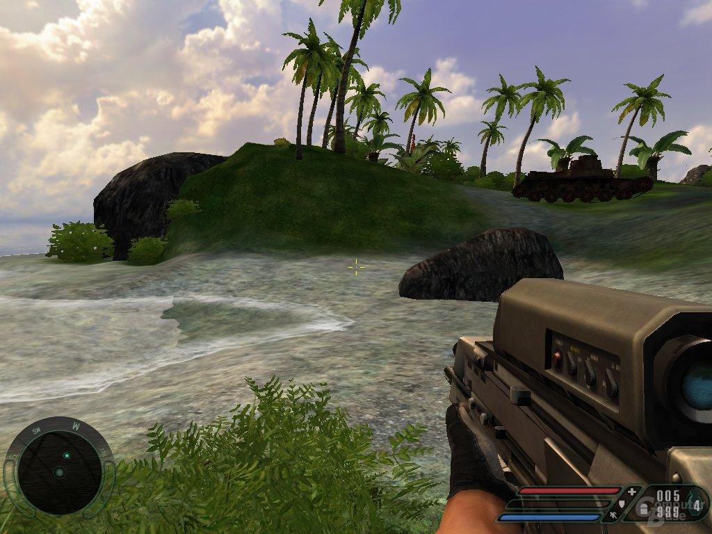 Far Cry 32 Bit - Stones