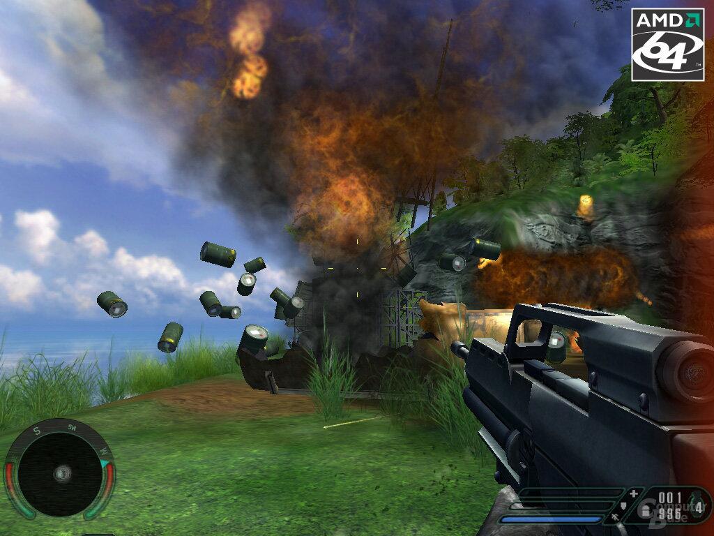 l-BarrelsC64 - verbesserte Explosionen