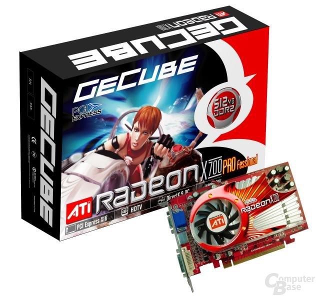 GeCube Radeon X700 Professional 512 MB