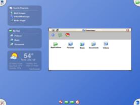 Mezzo - Desktop-Interface