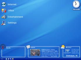 Symphony OS Standard Desktop