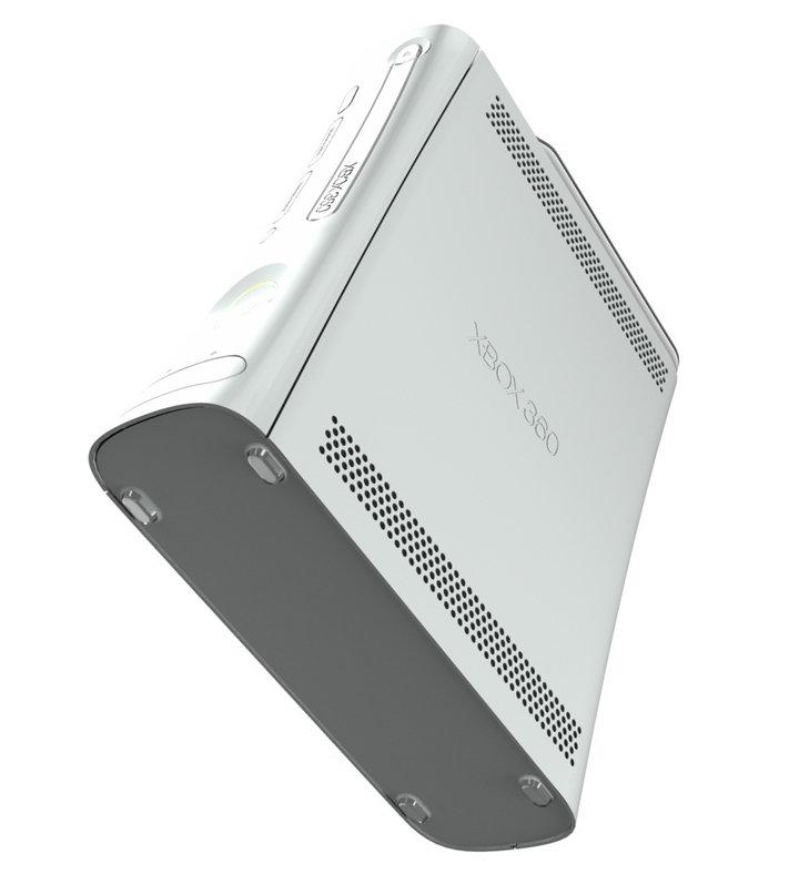Xbox 360 - Seitenansicht