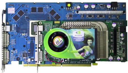 Asus EN6800Ultra Dual vs. GeForce 6800 Ultra | Quelle: VR-Zone