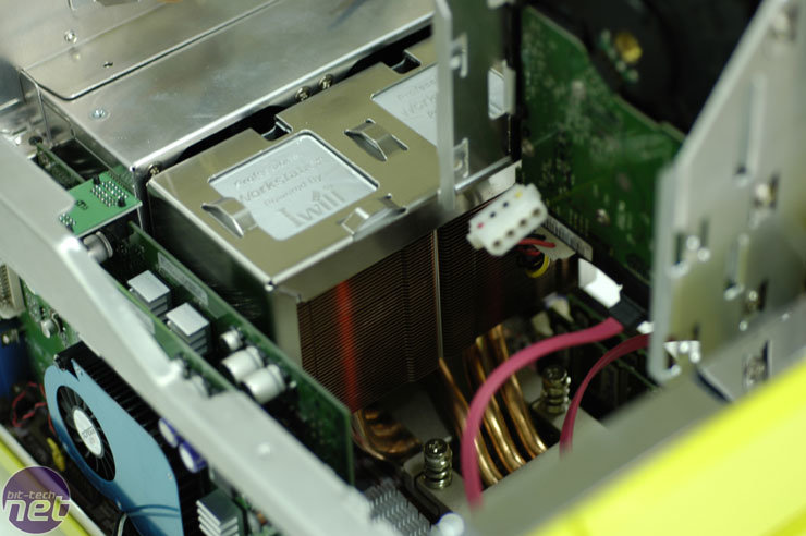 Heatpipe-Kühlung und SLI-Array