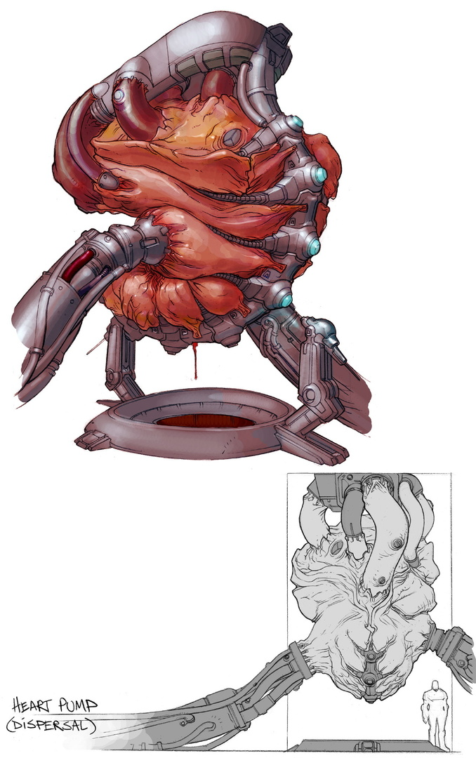 Quake 4 Concept-Art | Quelle: www.quake.de
