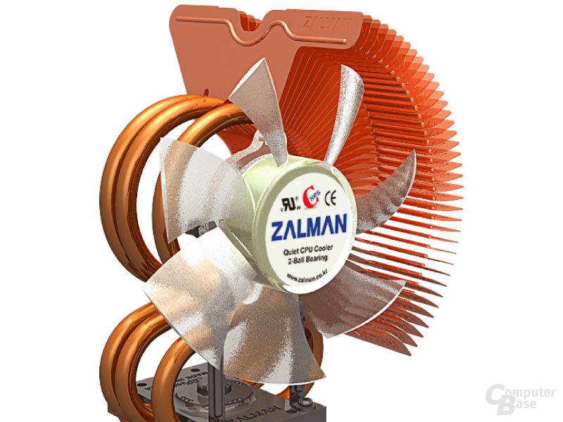 Zalman CNPS9500 mit Lüfter