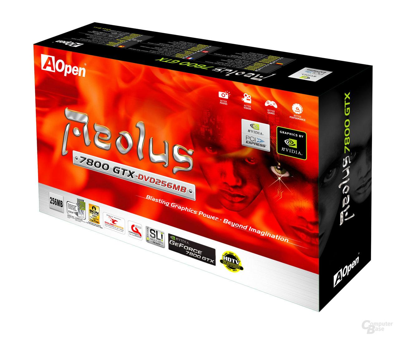 Aelous 7800GTX 3D box