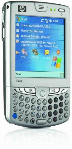 iPAQ hw6500 Mobile Messenger