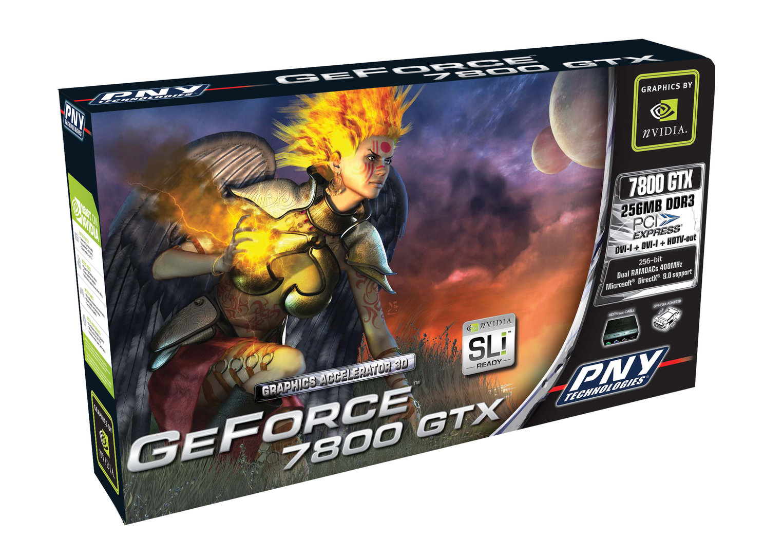 PNY Verto GeForce 7800 GTX