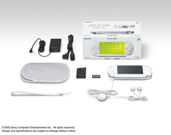 Ceramic white PSP-1000 KCW