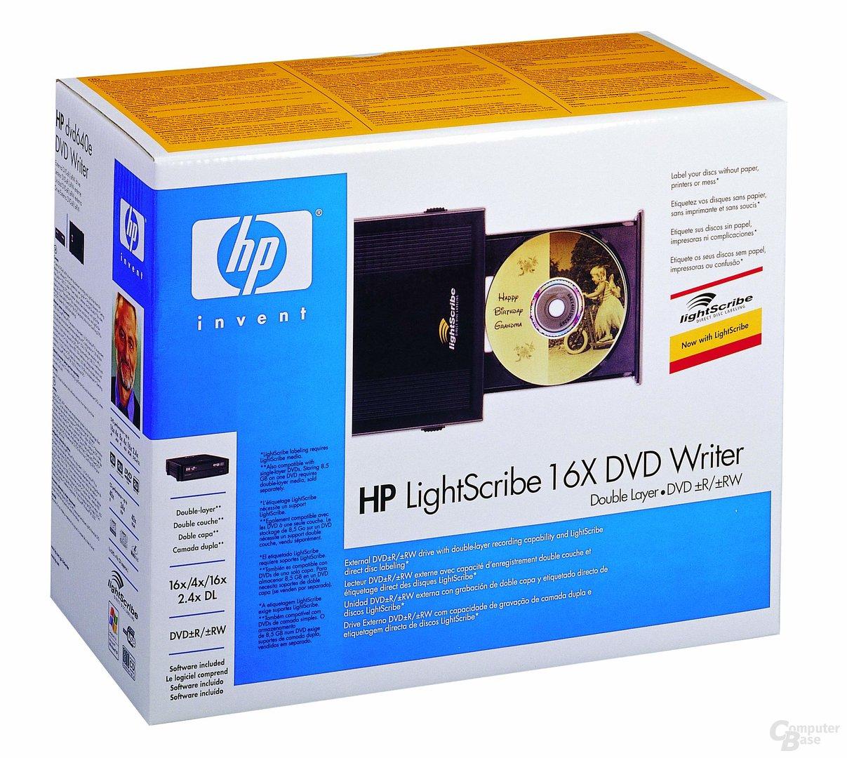 HP DVD-640e