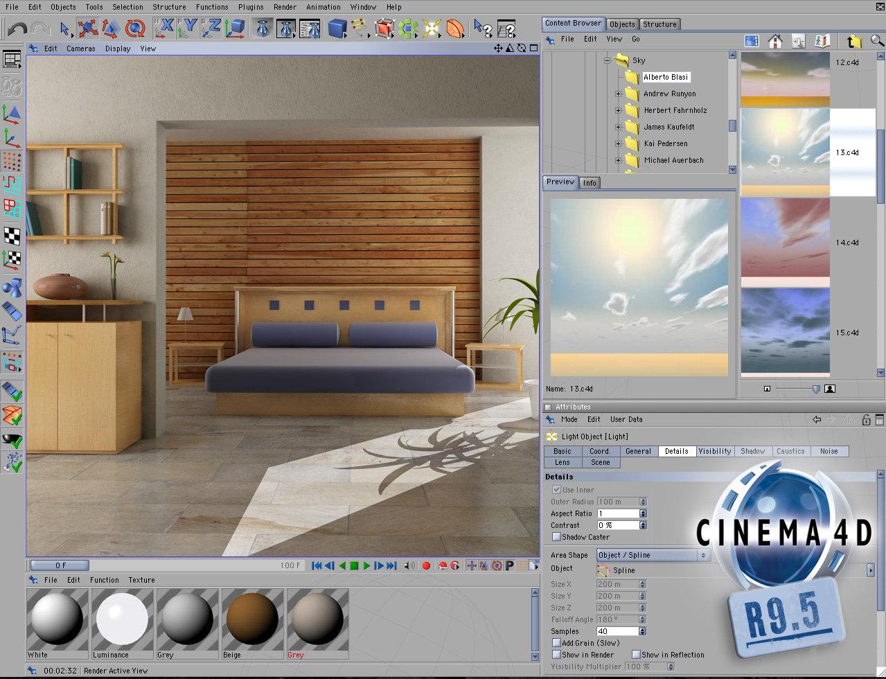 Maxon Cinema 4D R9.5