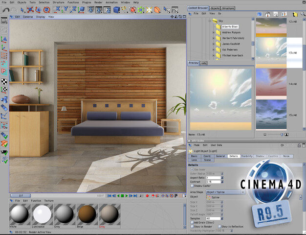 MAXON CINEMA 4D Studio Bundle v11.008 keygen