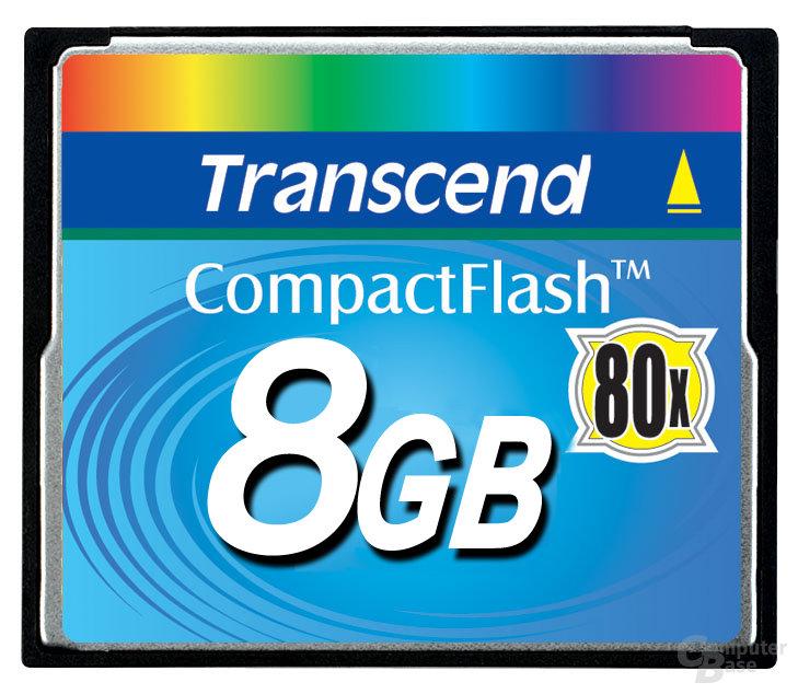 CompactFlash 8 GB 80x