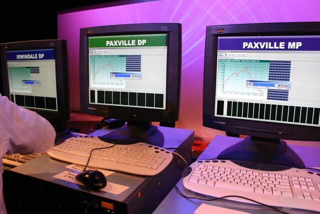 Leistungsvergleich auf dem IDF: Paxwille gegen aktuellen Xeon DP Irwindale