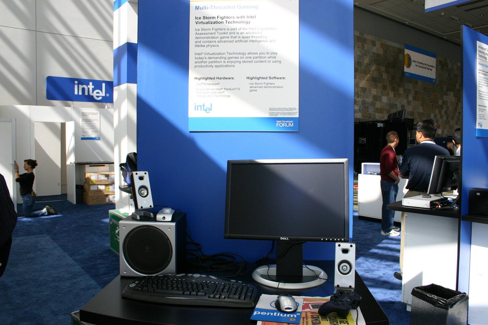 """Hier hat sich der neue 65-nm-Dual-Core Pentium D """"Presler"""" versteckt"""