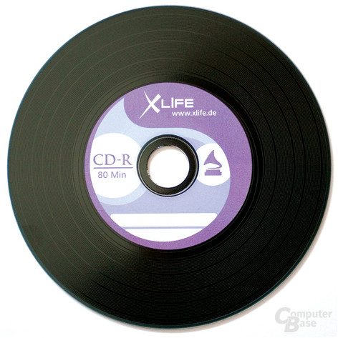 XLife CD im Vinyl Retro-Look