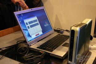 Intel Merom Demo-System