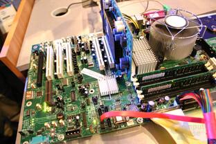 Intel Conroe Demo-System