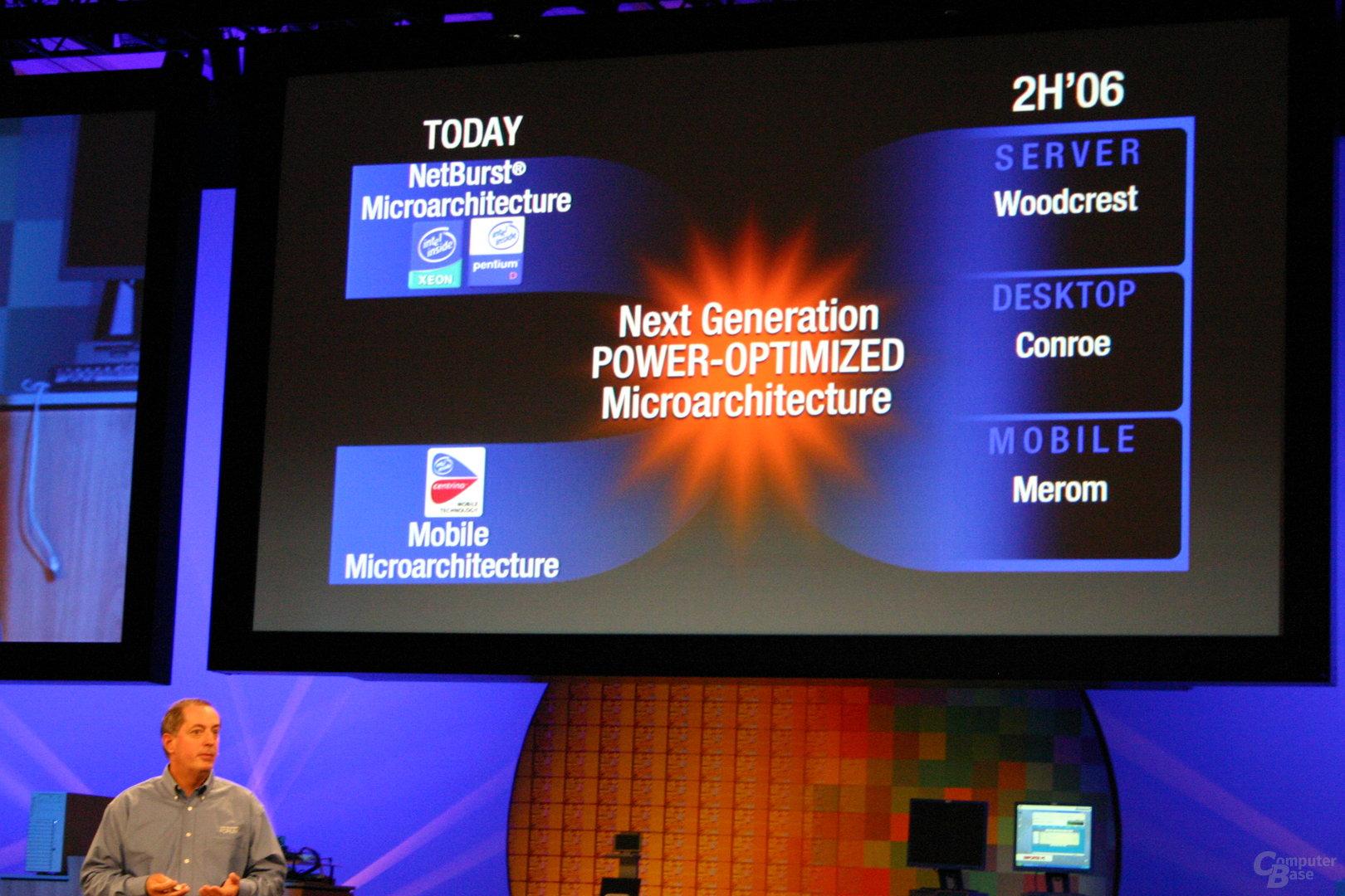 Intels neue Architektur ohne Namen