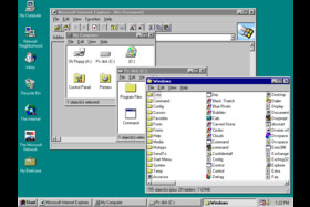 Windows 95 - Arbeitsplatz, Explorer