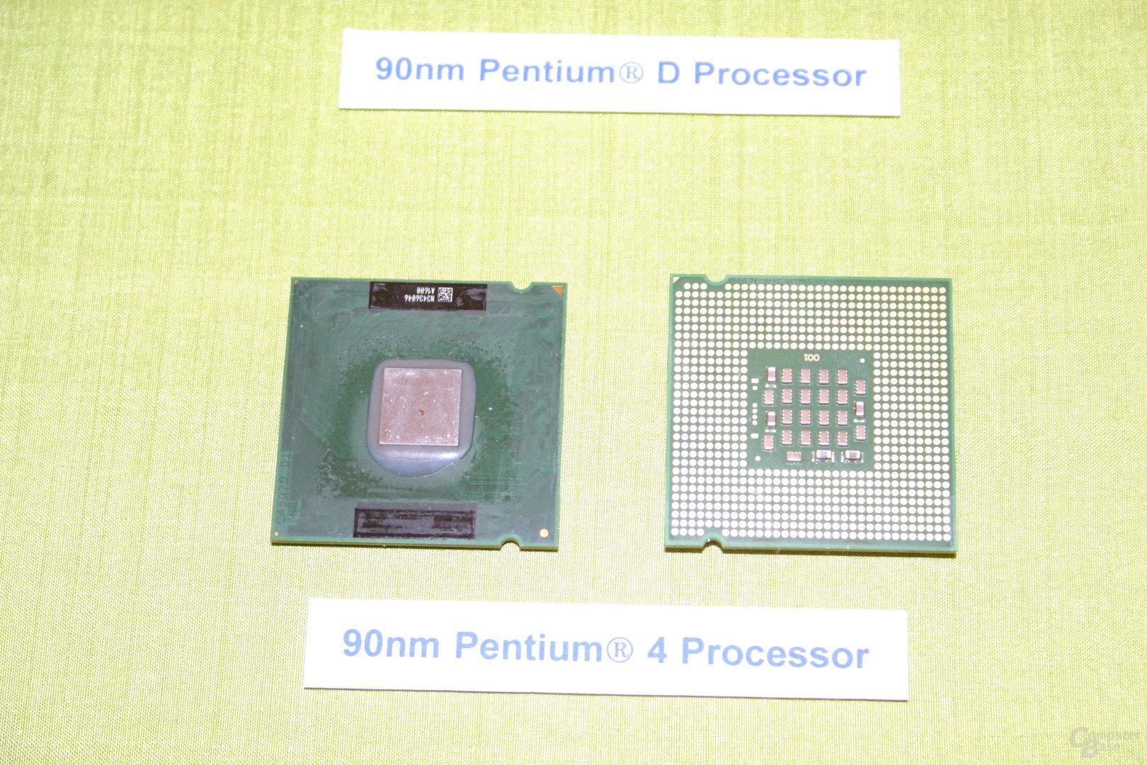90 nm Intel Pentium 4 Prescott