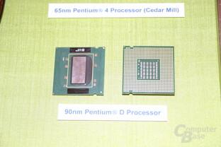 90 nm Intel Pentium D Smithfield