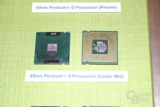 65 nm Intel Pentium 4 Cedar Mill