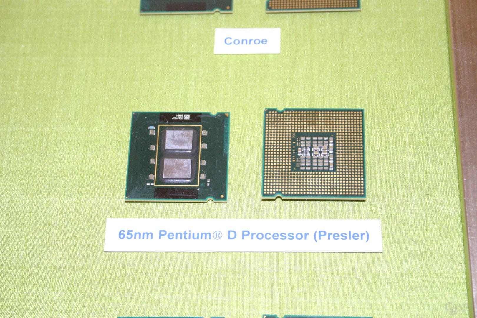 65 nm Intel Pentium D Presler
