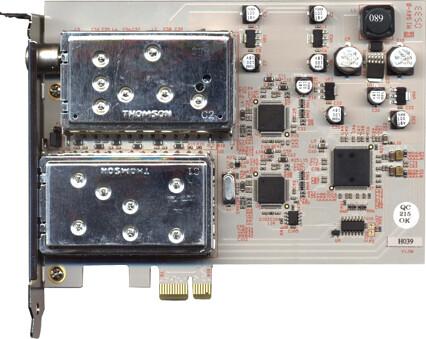 PCIe-Dual-DVB-T-TV-Karte von TerraTec