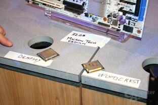 Die CPUs für Bensley: Dempsey und Woodcrest