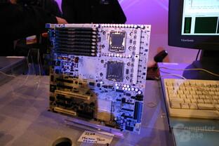 Blackford-Mainboard mit 32 GB Speicherbestückung