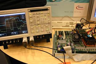 Bensley-Demosystem bei Infineon