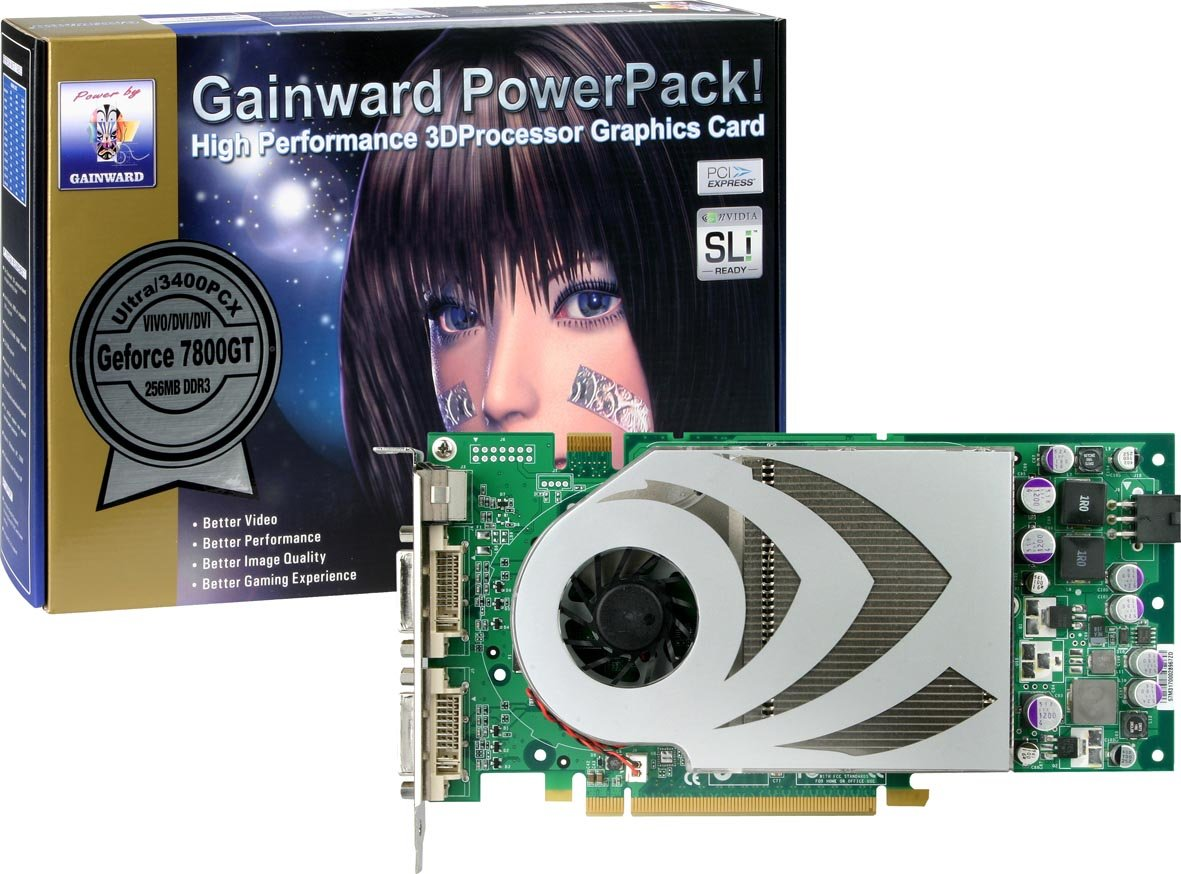Gainward GeForce 7800 GT