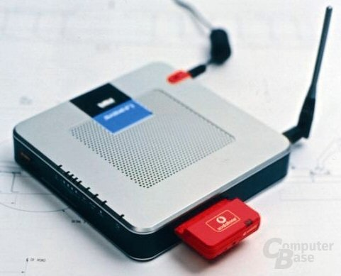 Vodafone UMTS-WLAN-Router | Quelle: Heise.de